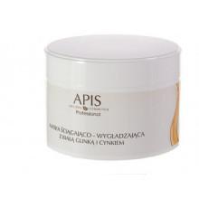APIS Maska ściągająco - wygładzająca z białą glinką i cynkiem 200ml