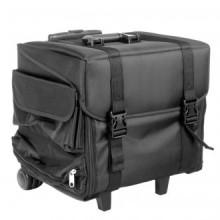Kuferek materiałowy look 506bt czarny