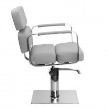 Gabbiano fotel fryzjerski porto szary