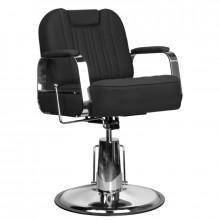 Gabbiano fotel barberski rufo czarny