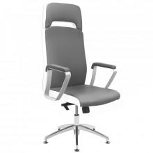 Fotel kosmetyczny rico a1501-1 szaro-biały