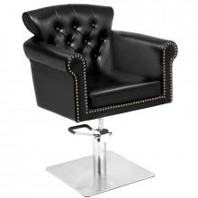 Gabbiano fotel fryzjerski berlin czarny