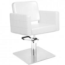 Gabbiano fotel fryzjerski ankara biały
