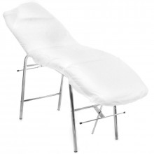Quickepil jednorazowy pokrowiec na fotel z gumką 90x220 cm - włóknina podfoliowana