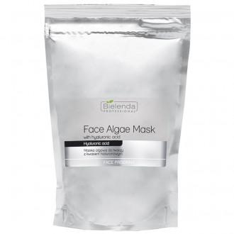 BIELENDA Opakowanie uzupełniające - maska algowa z kwasem hialuronowym 190g