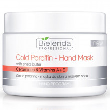 BIELENDA Zimna parafina - maska do dłoni z masłem shea 150g