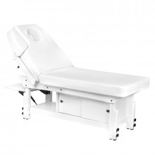 Spa leżanka kosmetyczna azzurro 376a biała