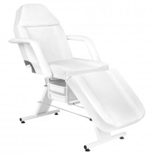 Fotel kosmetyczny basic 202 biały