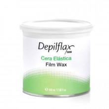 Depilflax elastyczny wosk do depilacji film wax puszka 500ml naturalny