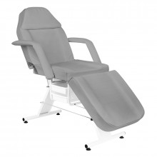 Fotel kosmetyczny basic 202 szary