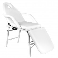 Fotel kosmetyczny składany a270 biały