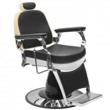 Gabbiano fotel barberski frederico czarny