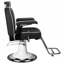 Gabbiano fotel barberski amadeo czarny