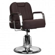 Gabbiano fotel barberski rufo brązowy
