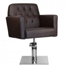 Gabbiano fotel fryzjerski hamburg brązowy
