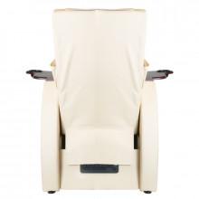 Fotel spa do pedicure z masażem pleców azzurro 101 beżowy