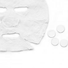 Jednorazowa maska włókninowa skompresowana 10 sztuk