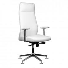 Fotel kosmetyczny rico 716a do pedicure i makijażu biały