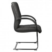 Fotel kosmetyczny rico 517c szary