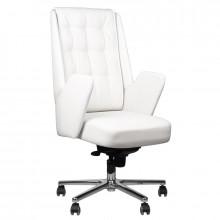Fotel kosmetyczny rico 1626 biały