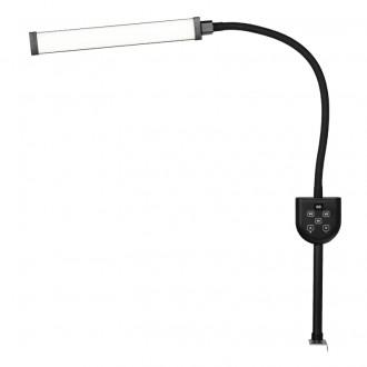 LAMPA LED DO RZĘS I MAKIJAŻU POLLUKS I TYP MSP-JZ-A BLACK EDITION DO BLATU