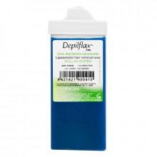 Depilflax wosk do depilacji twarzy rolka azulen