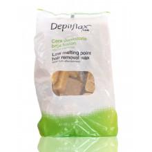 Depilflax wosk do depilacji 1kg naturalny