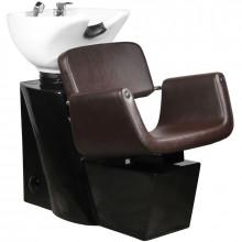 Gabbiano myjnia fryzjerska helsinki brązowa