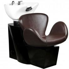 Gabbiano myjnia fryzjerska amsterdam brązowa