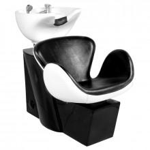 Gabbiano myjnia fryzjerska amsterdam czarno-biała