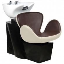 Gabbiano myjnia fryzjerska amsterdam brązowo-beżowa
