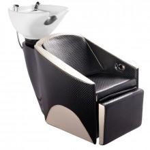 Gabbiano myjnia fryzjerska paryż czarno - beżowa