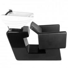 Gabbiano myjnia fryzjerska turyn czarna