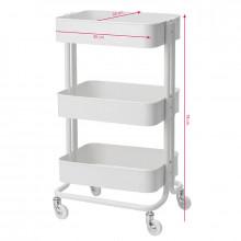 Stolik - pomocnik kosmetyczny hs05 biały