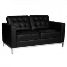 Gabbiano sofa do poczekalni bm18019 czarna