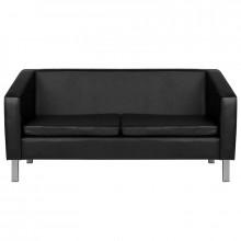 Gabbiano sofa do poczekalni bm18003 czarna