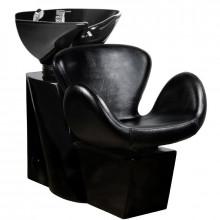 Gabbiano myjnia fryzjerska amsterdam czarna/czarna misa