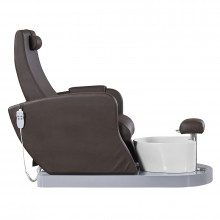 Fotel spa do pedicure azzurro 016 brązowy