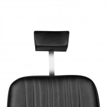 Gabbiano fotel barberski patrizio czarny