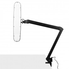 Lampa warsztatowa led elegante 801-s z imadełkiem standard black