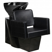 Gabbiano myjnia fryzjerska ankara czarna/czarna misa