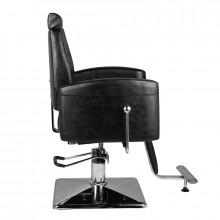 Hair system fotel barberski sm184 czarny