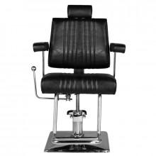 Hair system fotel barberski sm185 czarny