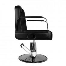 Gabbiano fotel barberski ugo czarny
