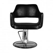 Hair system fotel fryzjerski sm339 czarny