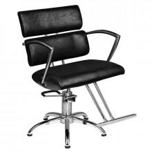 Hair system fotel fryzjerski sm362 czarny