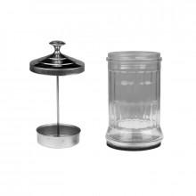 Pojemnik szklany do dezynfekcji narzędzi q5a 1200ml