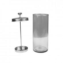 Pojemnik szklany do dezynfekcji narzędzi q5b 800ml