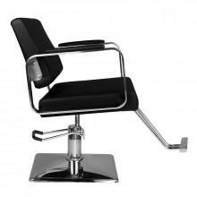Hair system fotel fryzjerski hs202 czarny