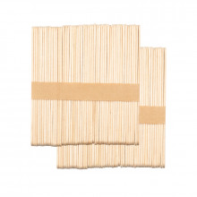Szpatułka drewniana średnia 114x10x2mm - 100 sztuk